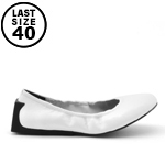 United Nude Block Ballet White Nappa