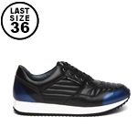 United Nude Runner Black Blue Steel sneaker