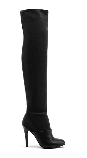 United Nude Boot in Boot Thigh Hi Black