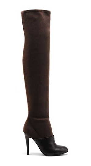 United Nude Boot in Boot Thigh Hi Dark Brown