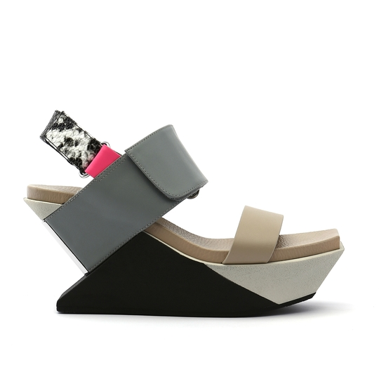 United Nude Delta Wedge Sandaal Future